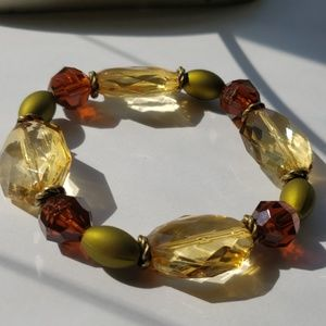 Crystal/ Fall colored/ Women's Bracelet